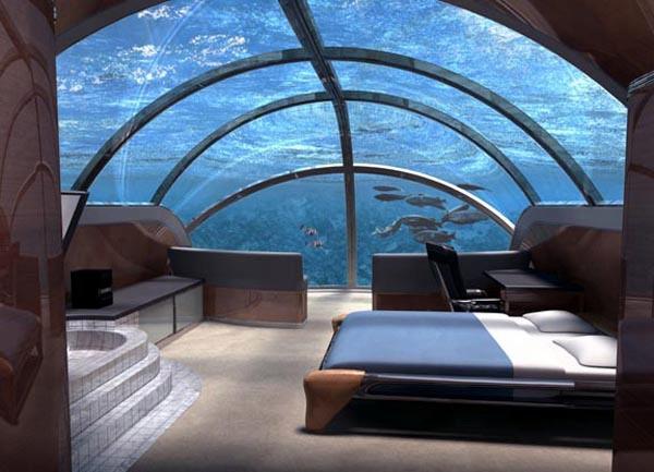 3. The Nautilus Suite – Poseidon Undersea Resort (Poseidon Mystery Island, Fiji)