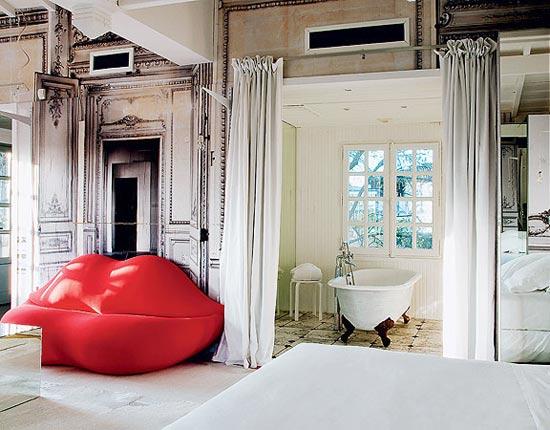 5. The Gilded Lounge Suite – a Maison des Champs Elysees (Paris, France)
