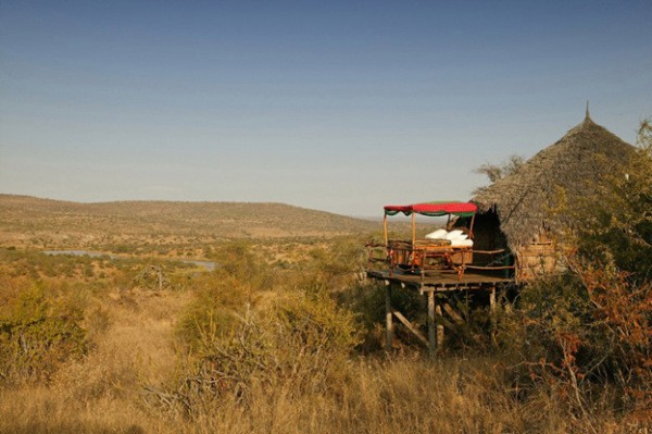 8. The Kiboko Star Bed – Loisaba Wilderness (Laikipa, Kenya)