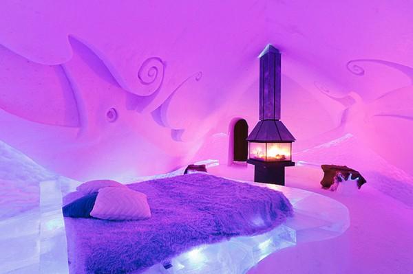 9. Ice Suite – Hôtel de Glace (Québec, Canada)