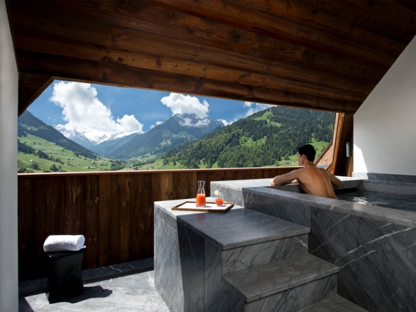 10. Panorama Suite – The Alpina Gstaad (Gstaad, Switzerland)