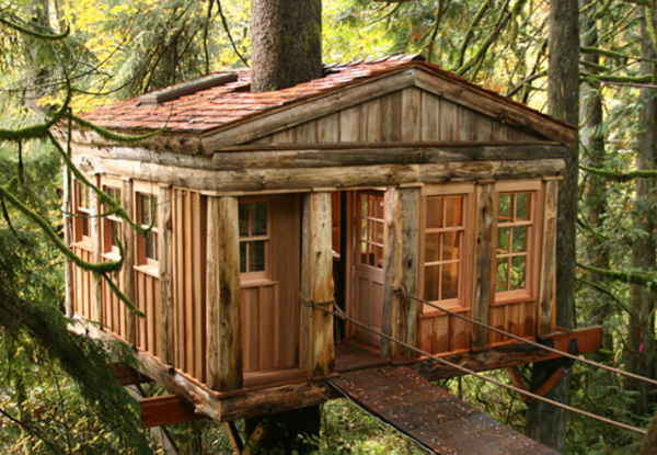 12. Temple of the Blue Moon – TreeHouse Point (Fall City, Washington)