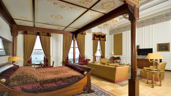 13. The Sultan's Suite – Çirağan Palace Kempinski (Istanbul, Turkey)