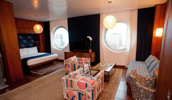 20. Junior Penthouse – The Maritime Hotel (New York, New York)