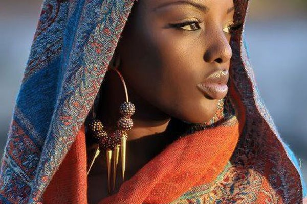 Perfect African beauty