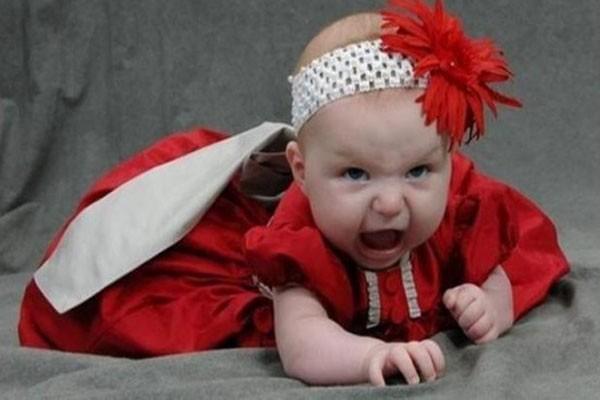 Beware, she's really mad!