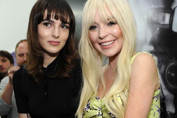 Lindsay Lohan and Aliana