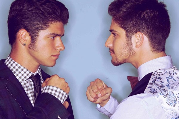 Tyler Posey and Jesse
