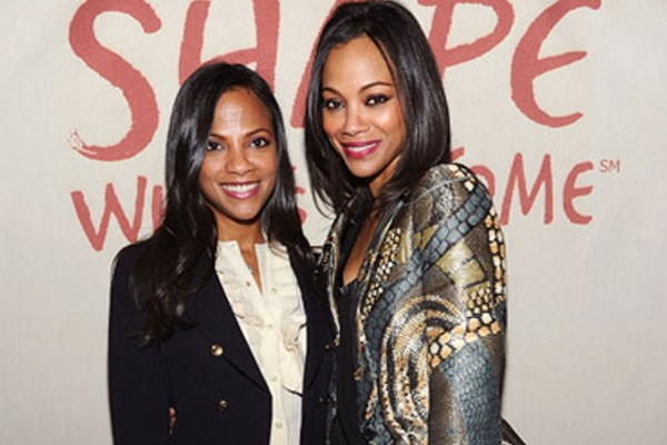 Zoe Saldana and Cisely