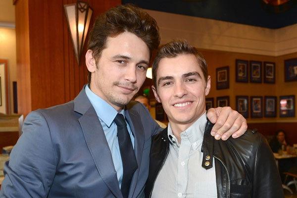James Franco and his brother Dave