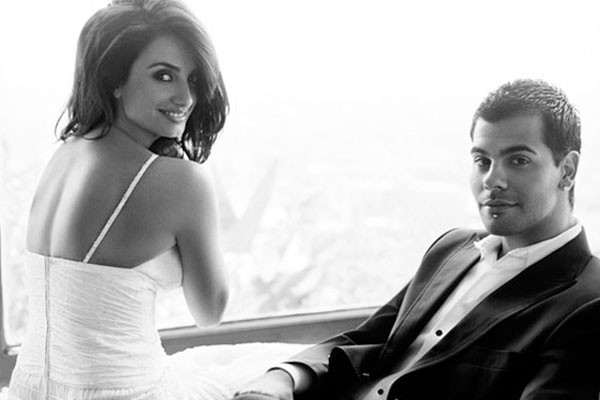 Penelope Cruz and Eduardo