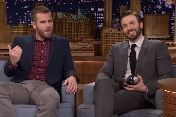 Chris Evans and Scott