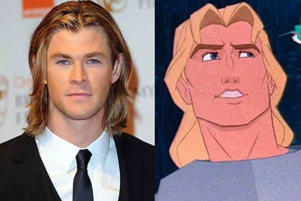 Chris Hemsworth and John Smith