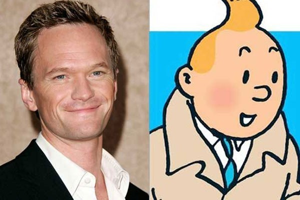 Neil Patrick Harris and Tintin
