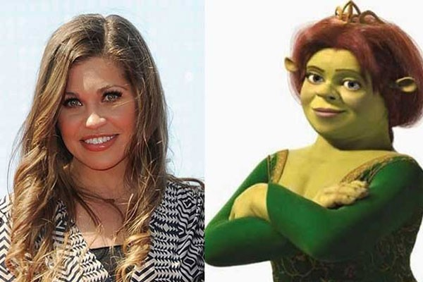 Danielle Fishel and Fiona