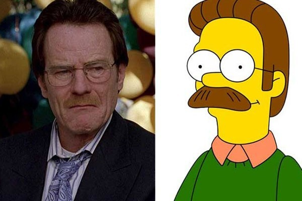 Walter White and Ned Flanders