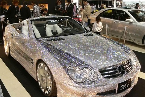 Cars full of diamonds