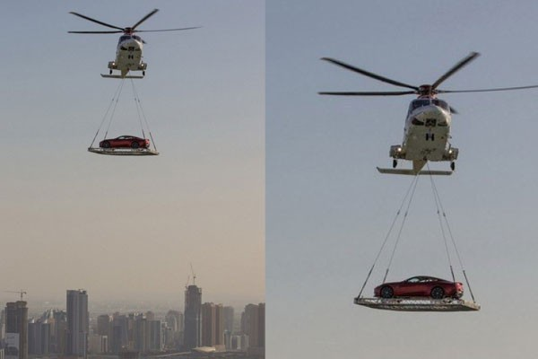 Private helicopters to avoid traffic
