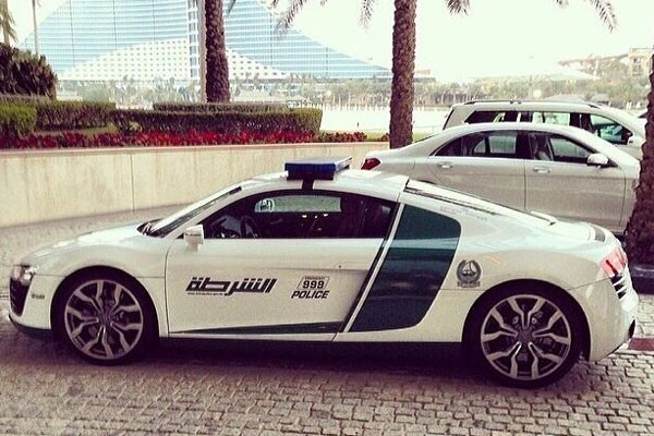 Fancy police vehicles