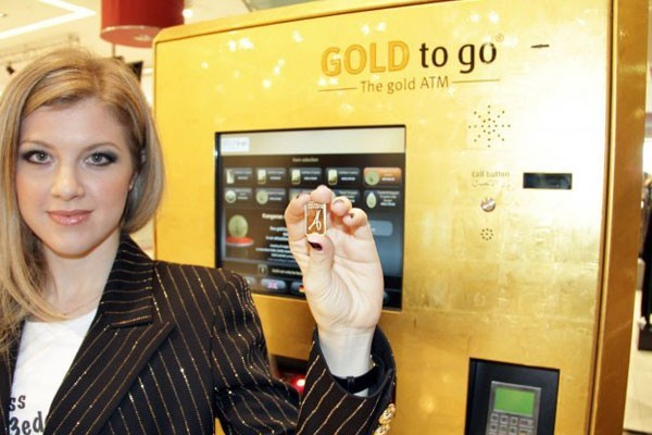 A gold ATM?
