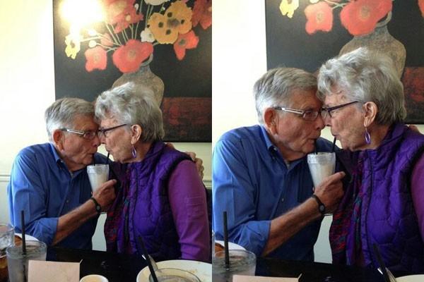 Sharing a Milkshake