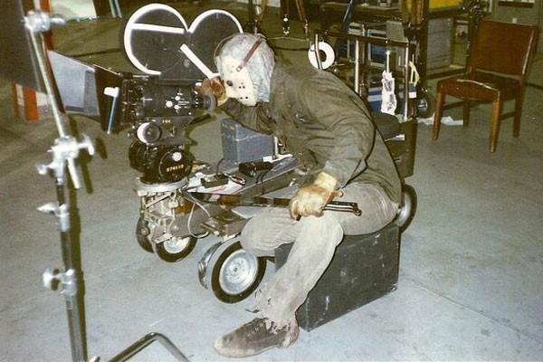 Jason as camera man