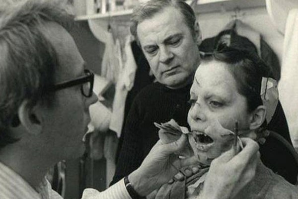 Makeup session for 'The Exorcist'