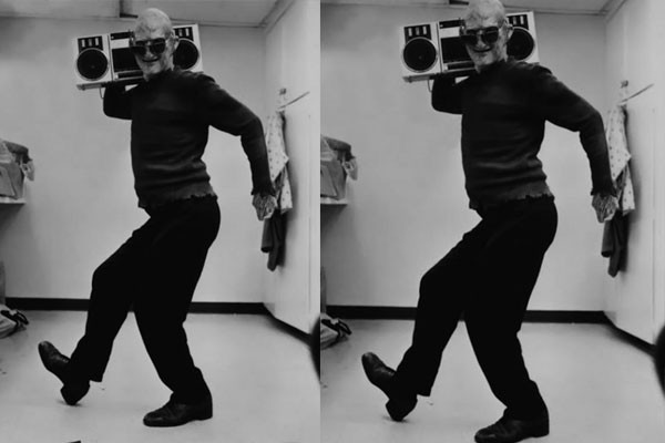 Freddy Krueger dancing?
