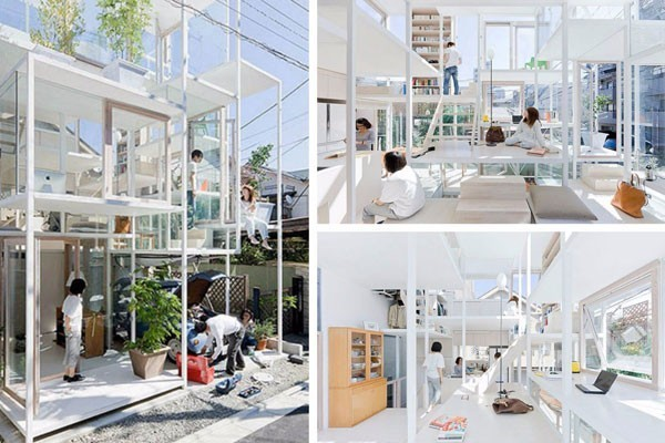 The transparent house