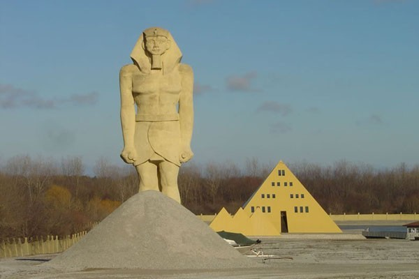The Pyramid house