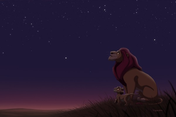 Mufasa from 'The Lion King'
