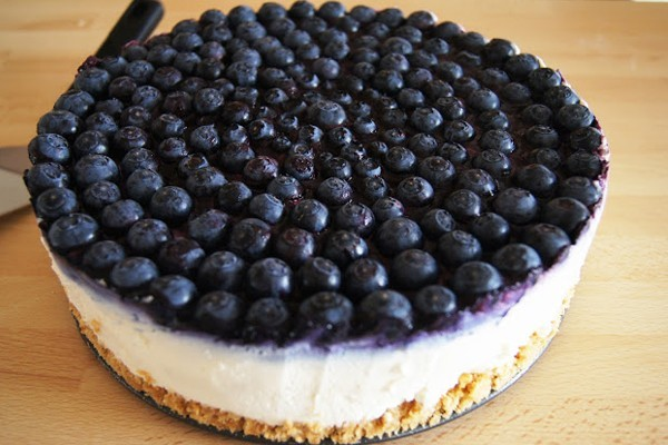 A perfect blue berry cake