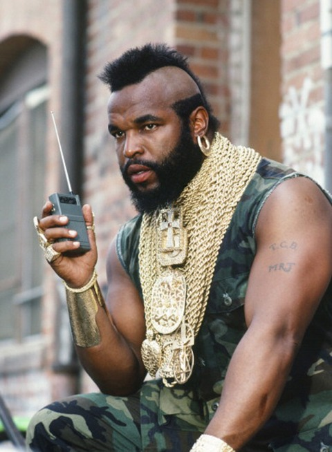 1. Remembered Mr. T
