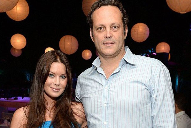 1. Vince Vaughn and Kyla Weber