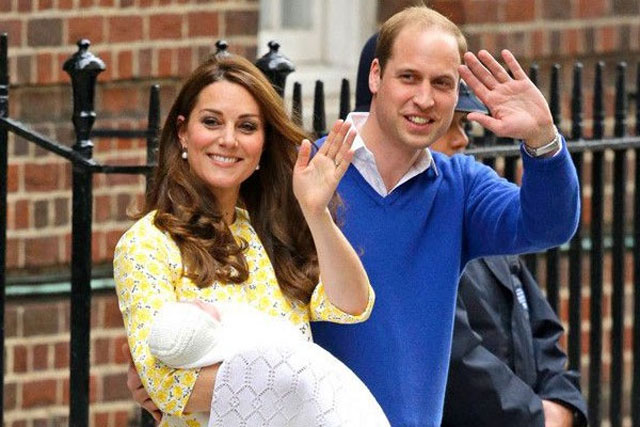 8. The Duke and Duchess of Cambridge