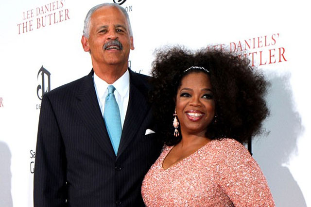 9. Oprah and Stedman Graham