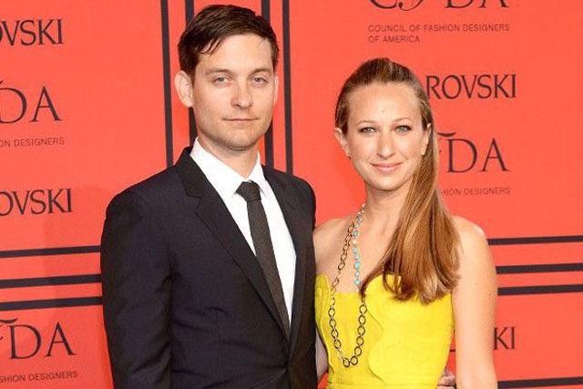 11. Tobey Maguire and Jennifer Meyer