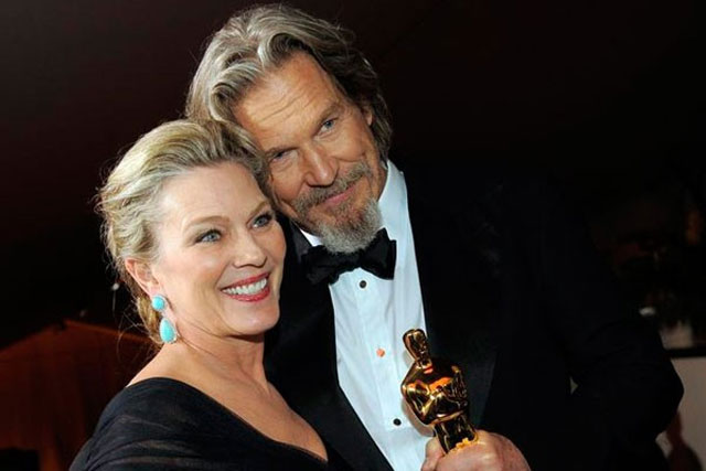 12. Jeff Bridges and Susan Geston