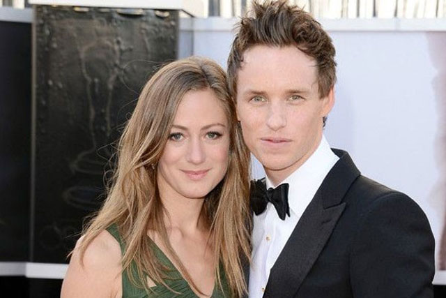 14. Eddie Redmayne and Hannah Bagshawe