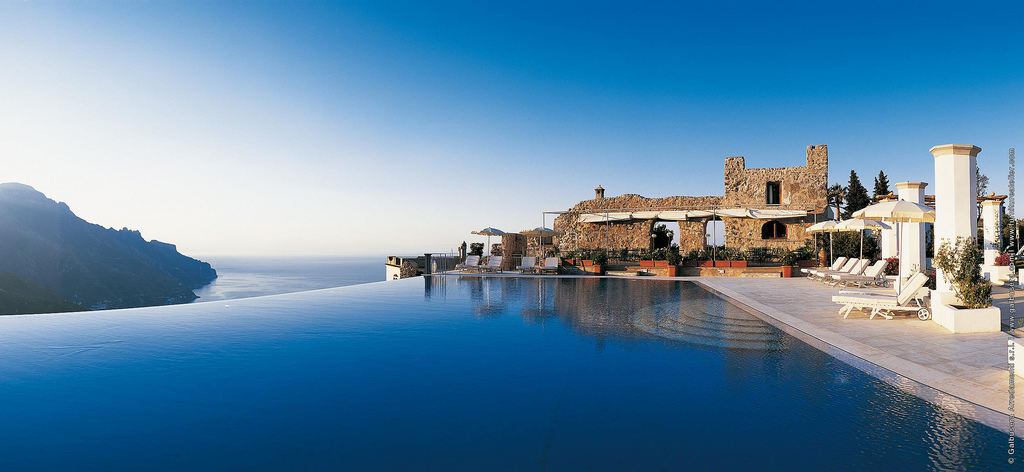 2. The Infinity Pool At The Hotel Caruso