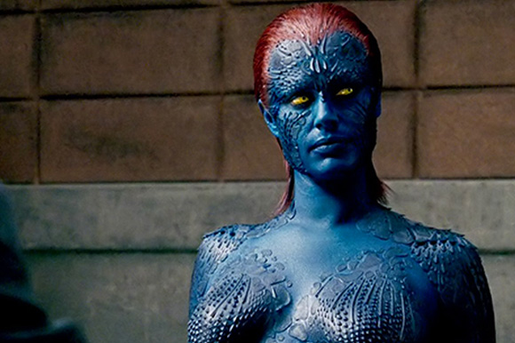 10. Rebecca Romijn in 'X-Men United'