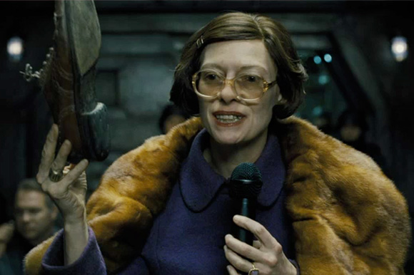 14. Tilda Swinton in 'Snowpiercer'
