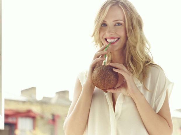 8. Drink Coconut Water All Day