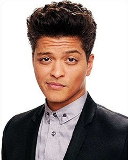 7. Bruno Mars (Vocalist)