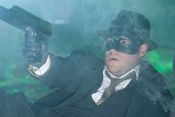 "1. Seth Rogen in ""The Green Hornet"""