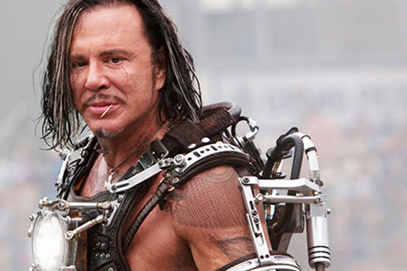"4. Mickey Rourke in ""Iron Man 2″"