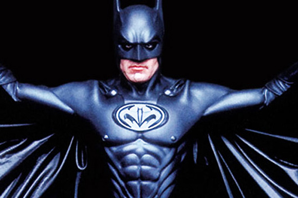 "5. George Clooney in ""Batman & Robin"""