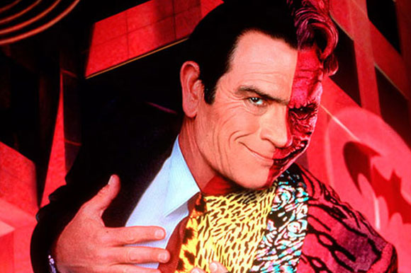 "9. Tommy Lee Jones in ""Batman Forever"""