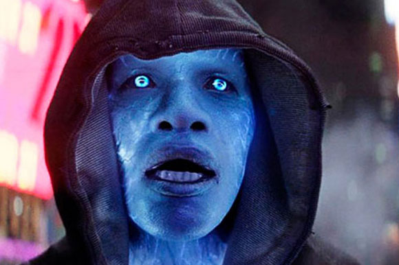 "10. Jamie Foxx in ""The Amazing Spider-Man 2″"