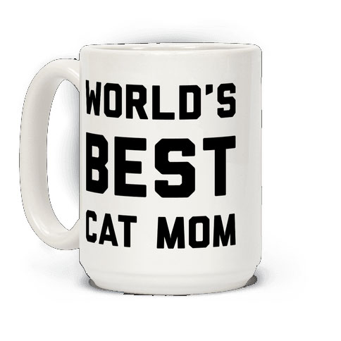 3. Cat Mom Mug